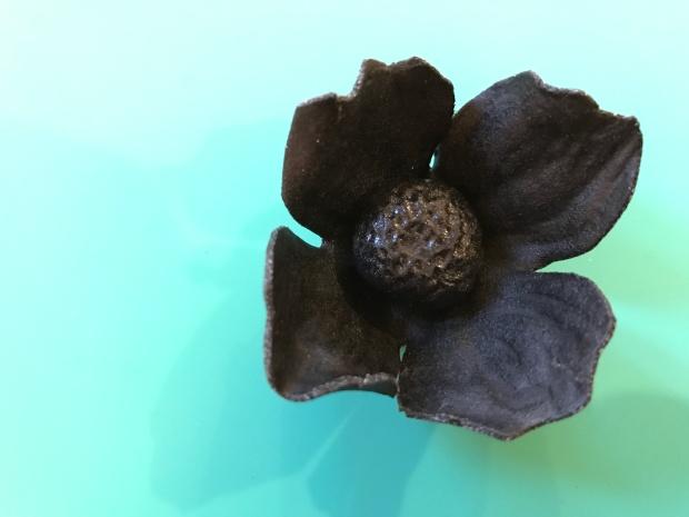 Black Art Worbla Flower