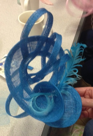 """""""I really enjoyed your fascinator party. It was good fun & they were easy to make. Mine got lots of compliments when I wore it to Ladies Day at Goodwood."""" Mrs T (May 2016)"""