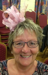 """It was a fun evening with a very talented milliner. I learnt so much and went away with a wearable fascinator."""" Mrs CH (May 2016)"""