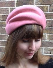 Winter Wedding French Style Wool Felt Vintage Style Hat, Bespoke Millinery by Isabella Josie
