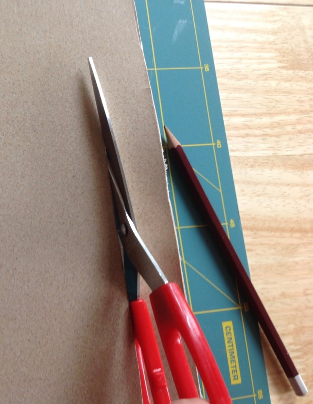 cutting Worbla Meshed Art with Household Kitchen Scissors