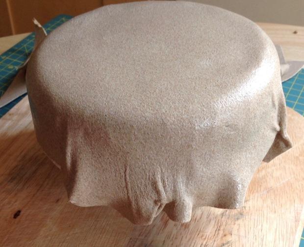 Worbla Meshed Art over Hat block