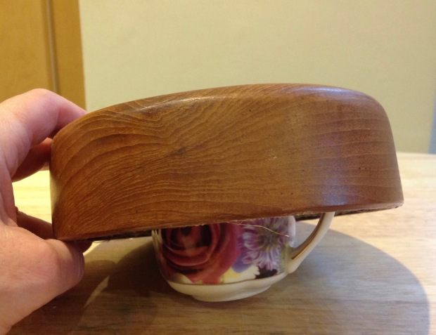 Hat Block Mould from Wooden Bowl and cup