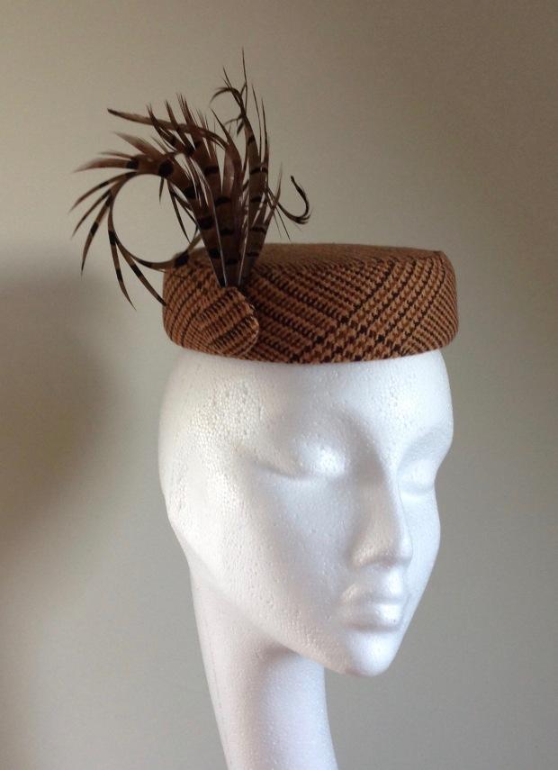 Worbla Meshed Art Pillbox Hat