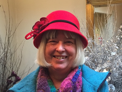 Red Wool Felt Cloche - I just love seeing my customers photos #isabellajosie