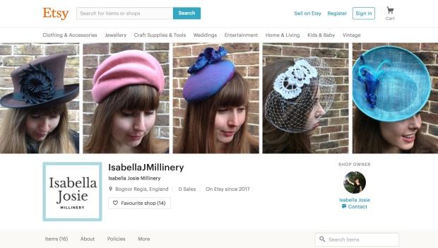 www.etsy.com/uk/shop/IsabellaJMillinery