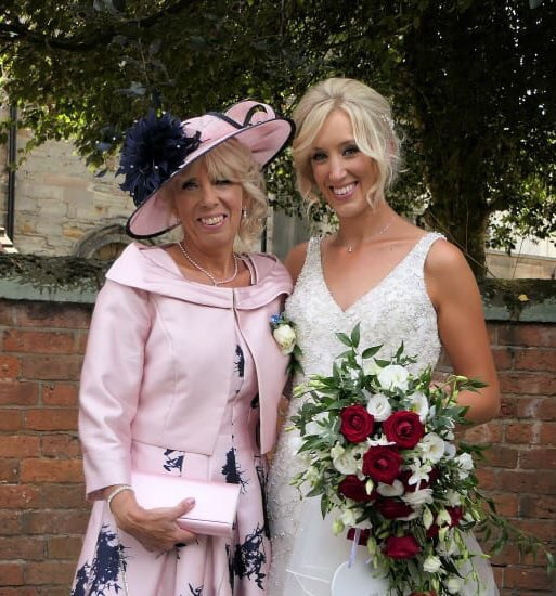 """Bespoke Hat for Mother of the Bride - """"My hat has lots of compliments"""""""