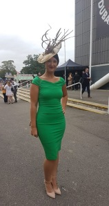 """""""Bella has recently made me 2 bespoke pieces to match 2 different outfits for Ladies Days at short notice. She is accommodating, passionate and professional."""""""