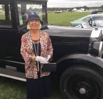 Bespoke Summer Cloche for Goodwood Revival