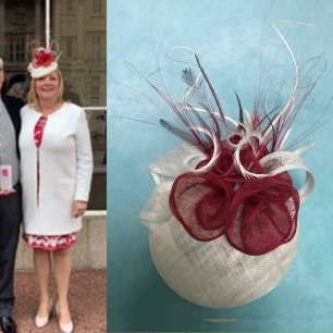 """""""Can't wait to wear the hat you've designed for me to exactly match my outfit for a special ceremony at Buckingham Palace this week. Having the confidence to know it's just right is wonderful. Thank you so much."""""""