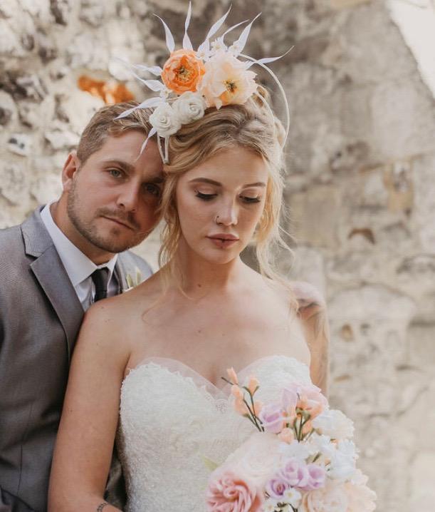 Halo Bridal Crown by Isabella Josie
