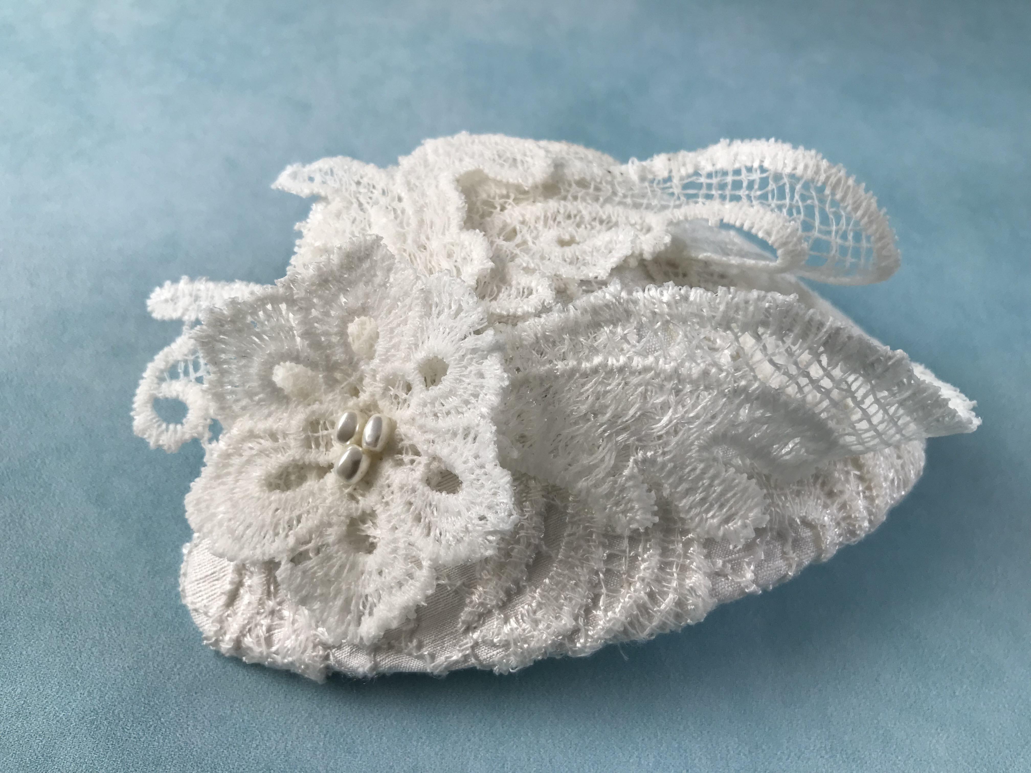 Lace Bridal Headpiece by Isabella Josie Millinery