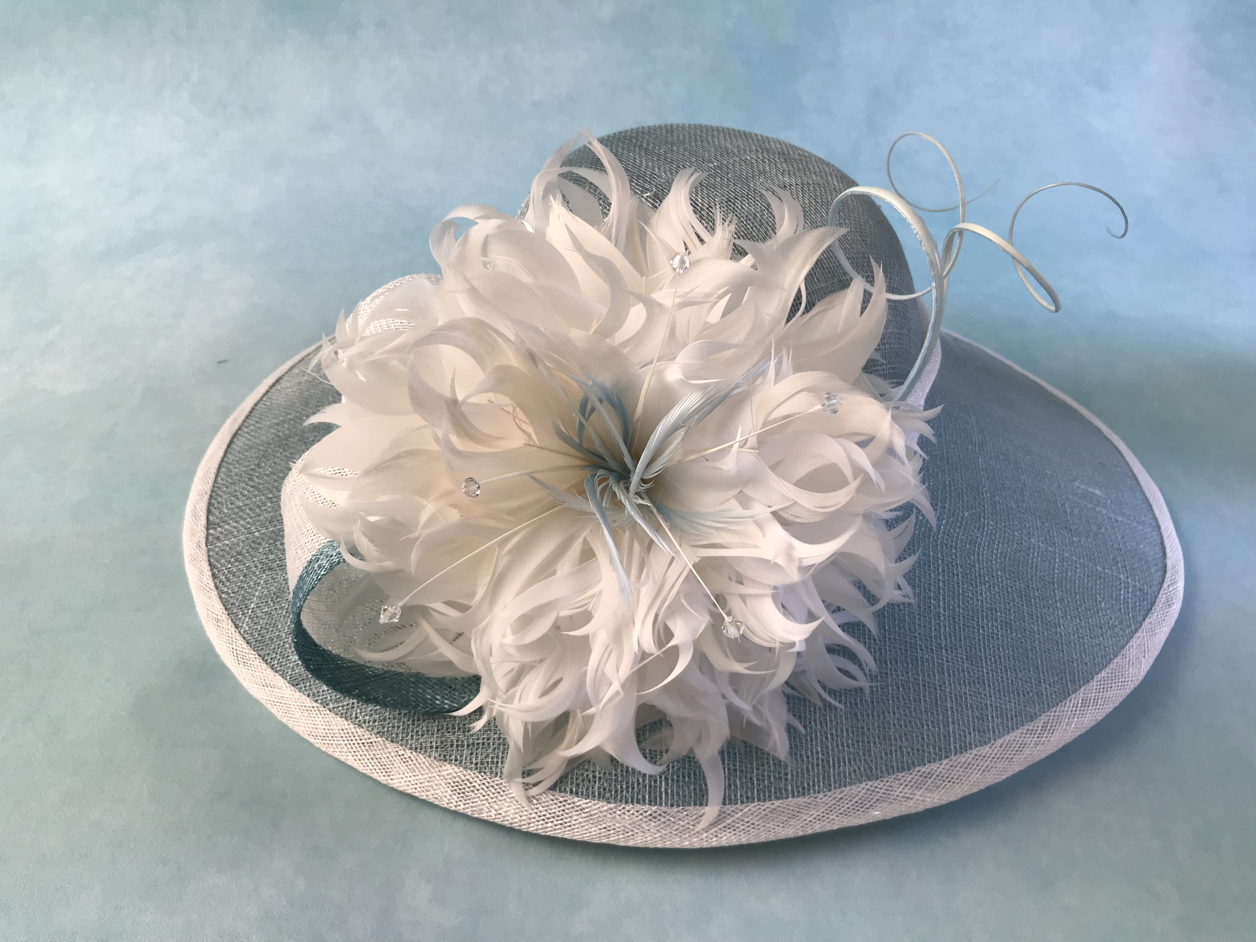 Large Brim Mother of the Bride Hat by Isabella Josie Millinery