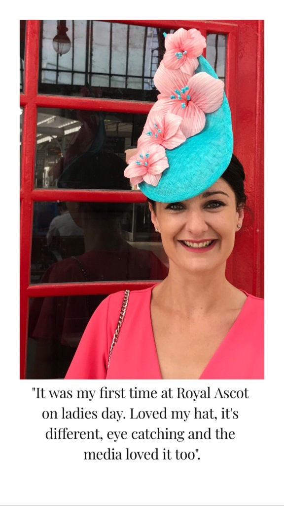 Royal Ascot Ladies Day, Hat by Isabella Josie Review